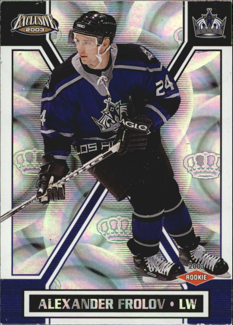 2002-03 Pacific Exclusive Retail #199 Alexander Frolov RC