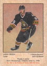 2002-03 Parkhurst Retro #247 Jason Spezza RC