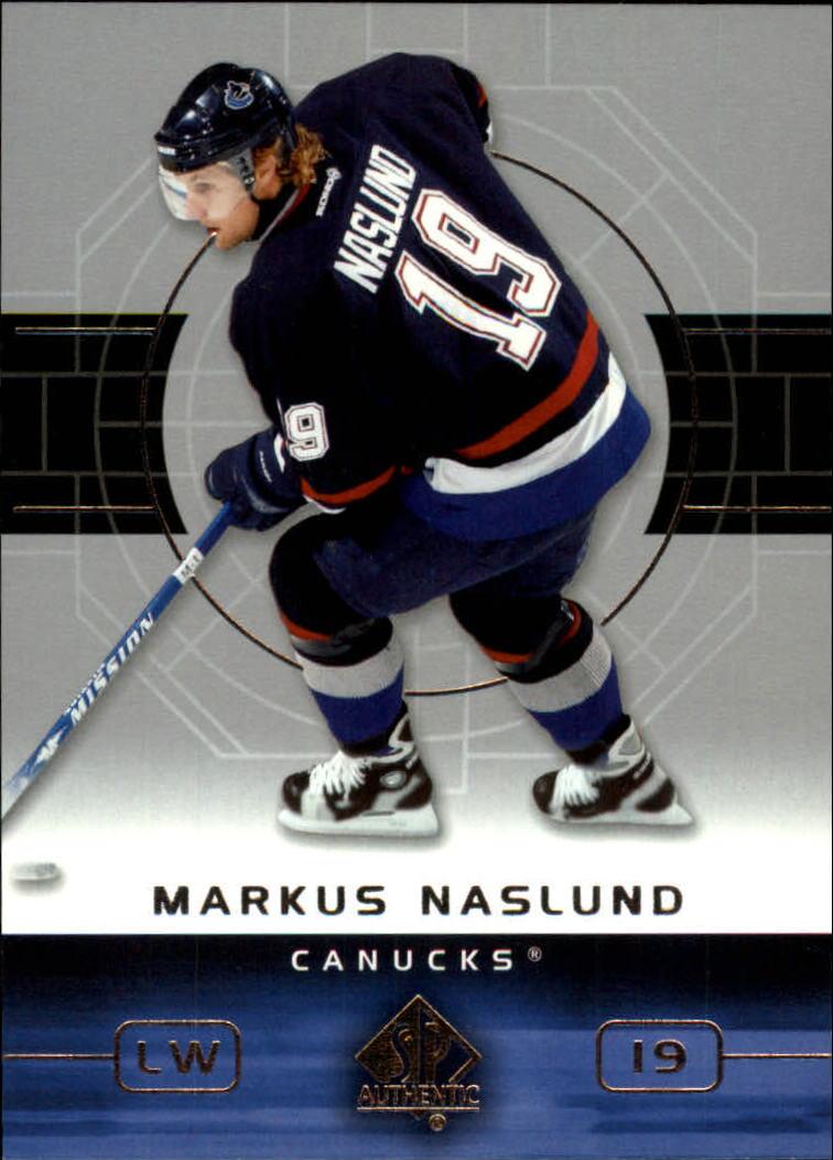 2002-03 SP Authentic #85 Markus Naslund