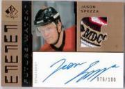 2002-03 SP Authentic Signed Patches #PJS Jason Spezza
