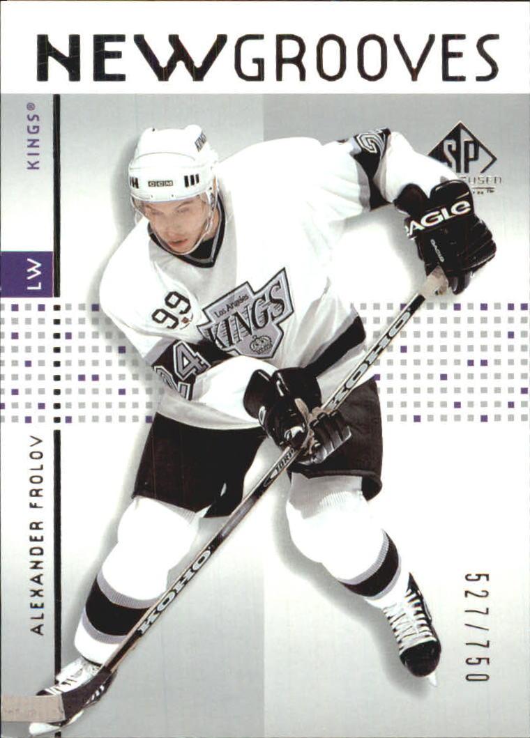 2002-03 SP Game Used #79 Alexander Frolov RC