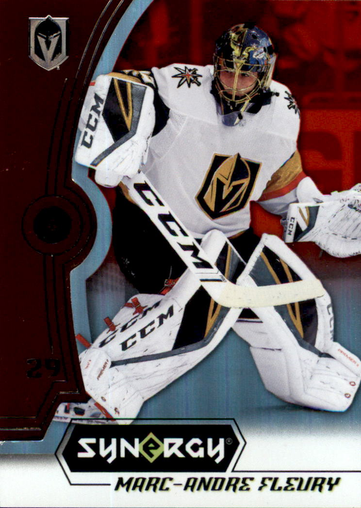 2018-19 Synergy Red #20 Marc-Andre Fleury