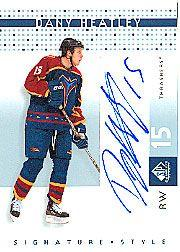2002-03 SP Game Used Signature Style #DH Dany Heatley
