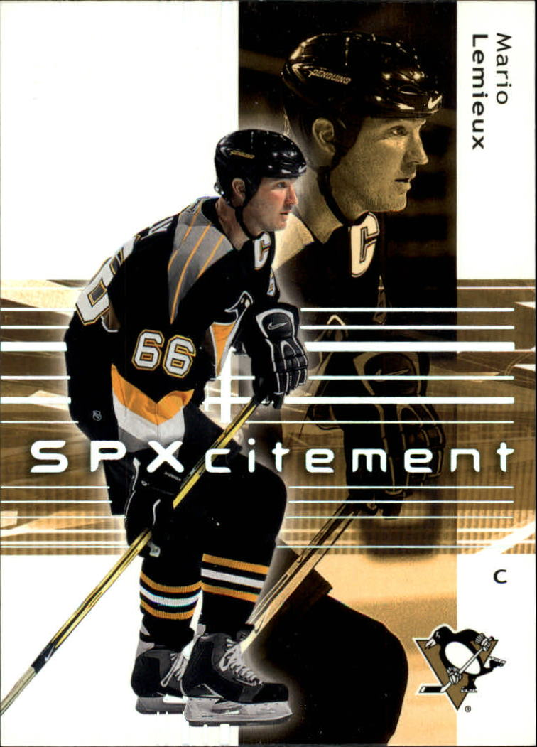 2002-03 SPx #97 Mario Lemieux