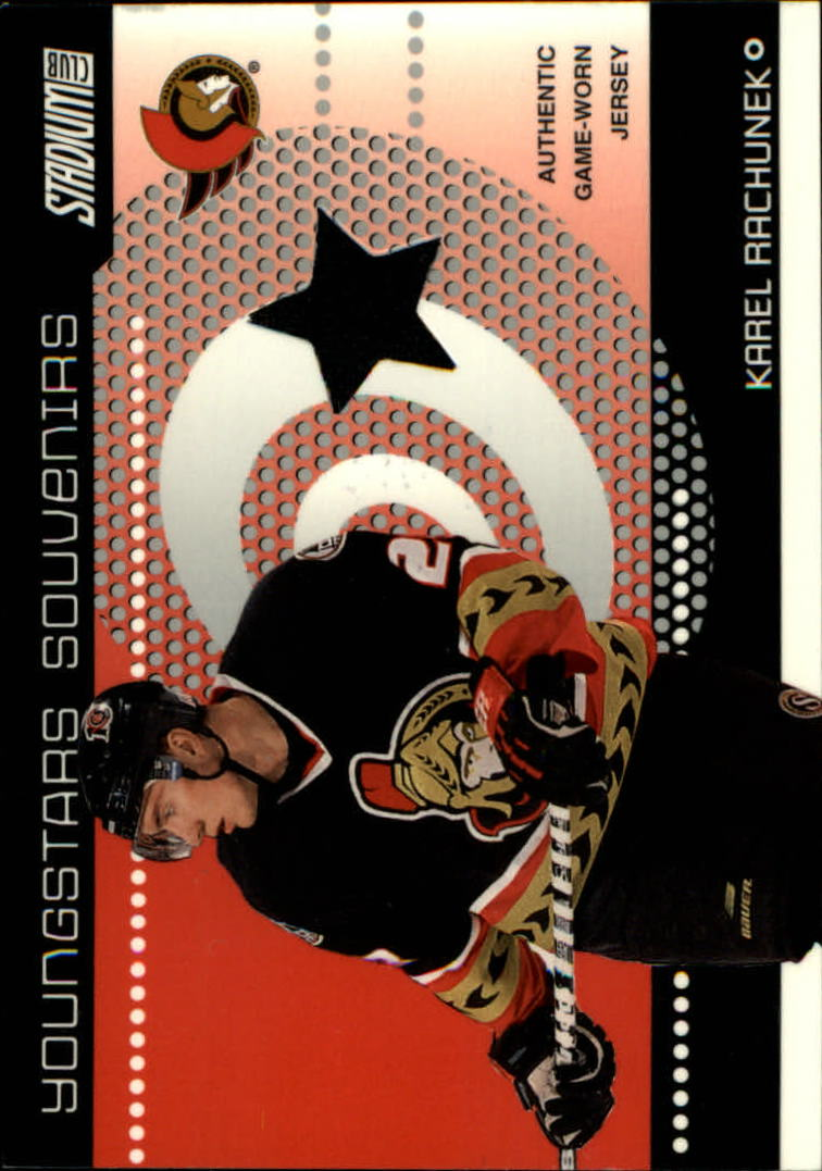 2002-03 Stadium Club YoungStars Relics #YSS23 Karel Rachunek