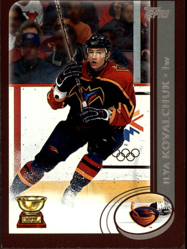 2002-03 Topps #11 Ilya Kovalchuk