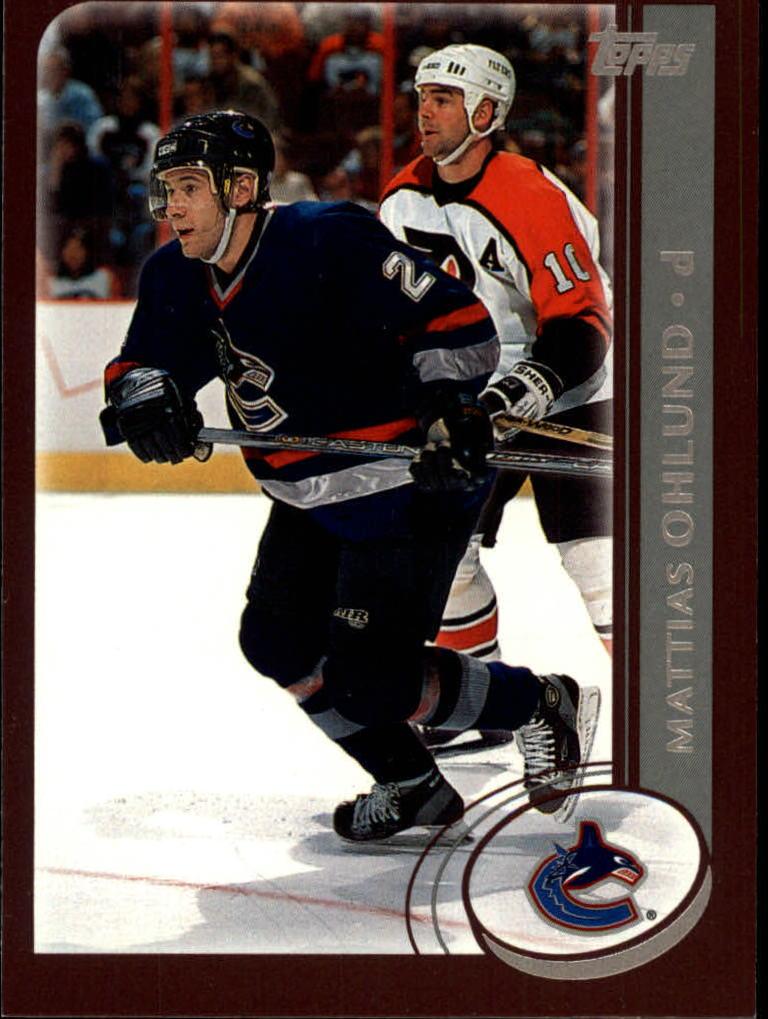 2002-03 Topps #51 Mattias Ohlund