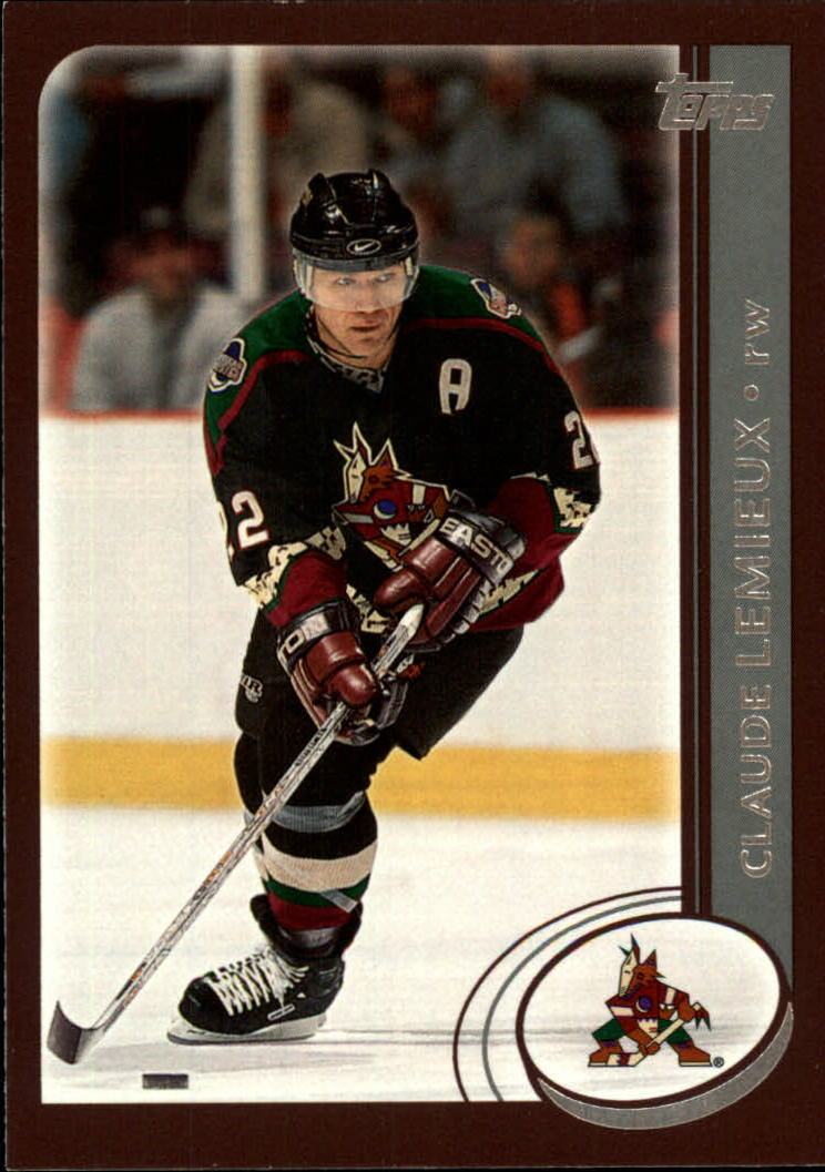 2002-03 Topps #227 Claude Lemieux