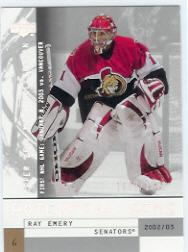 2002-03 UD Mask Collection #153 Ray Emery RC