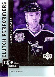 2002-03 UD Top Shelf Clutch Performers Jerseys #CPZP Zigmund Palffy