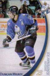2002-03 Kootenay Ice #2 Duncan Milroy