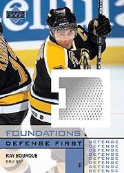 2002-03 Upper Deck Foundations Defense First #DBO Ray Bourque