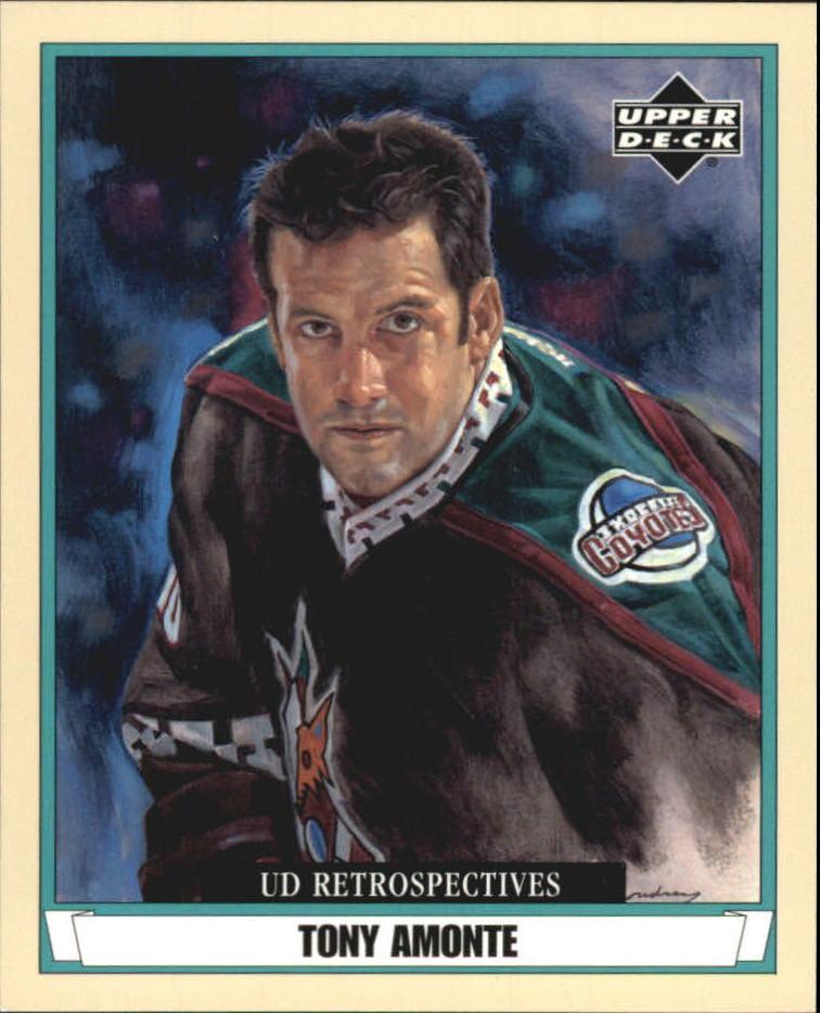2002-03 UD Artistic Impressions Retrospectives #R67 Tony Amonte