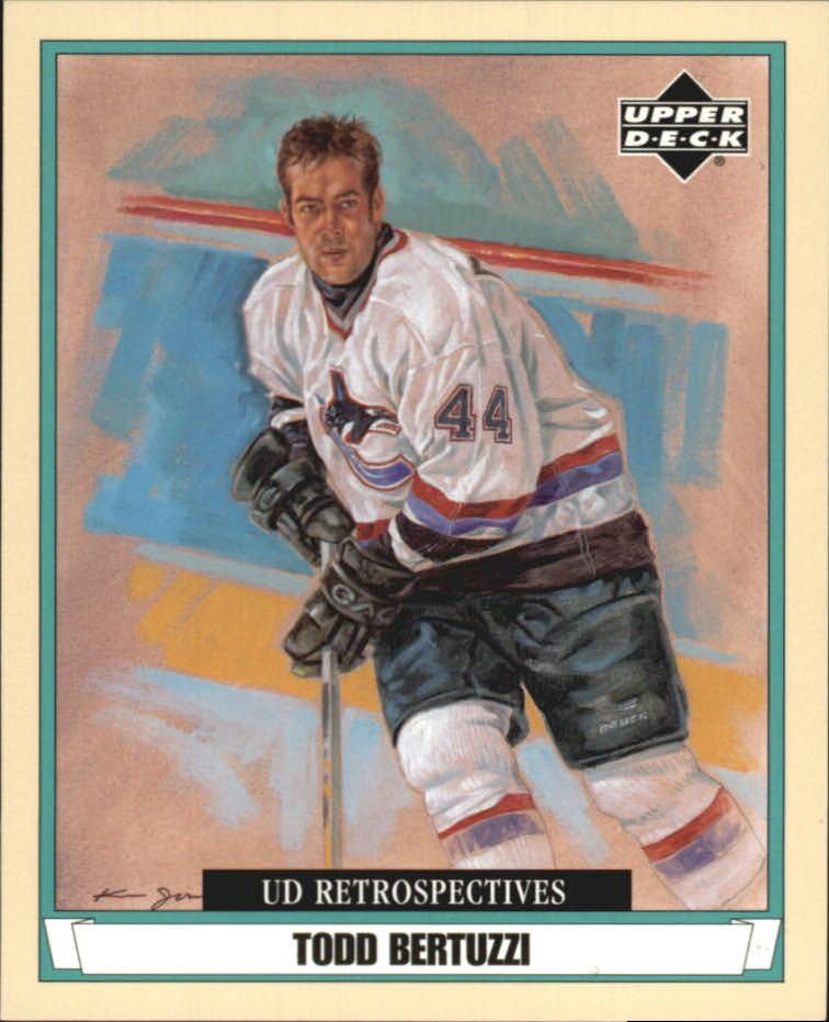 2002-03 UD Artistic Impressions Retrospectives #R85 Todd Bertuzzi