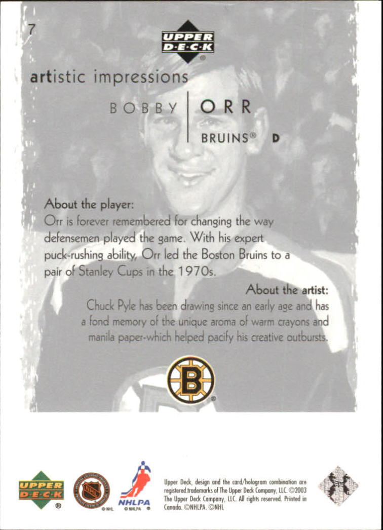 2002-03-UD-Artistic-Impressions-Hockey-Cards-Pick-From-List miniature 13