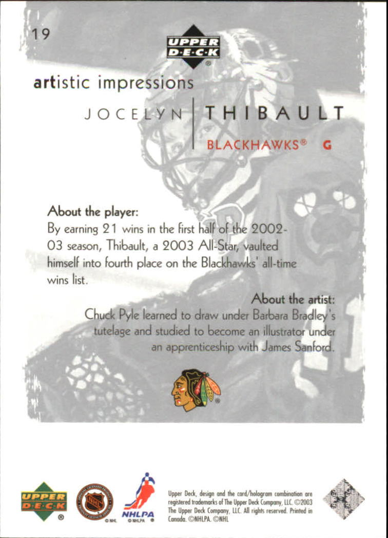 2002-03-UD-Artistic-Impressions-Hockey-Cards-Pick-From-List miniature 35