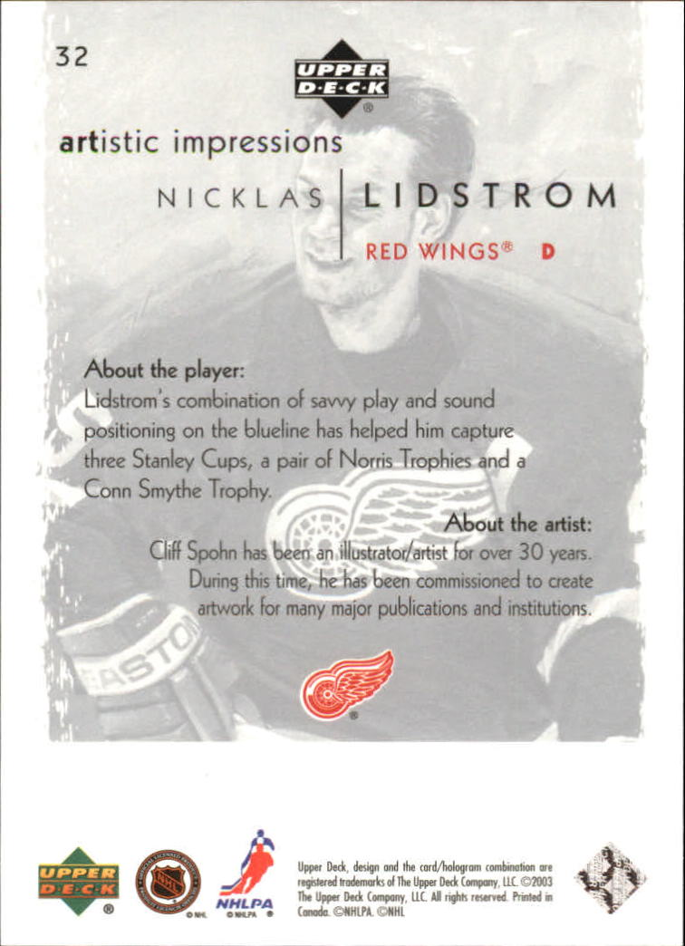 2002-03-UD-Artistic-Impressions-Hockey-Cards-Pick-From-List miniature 59