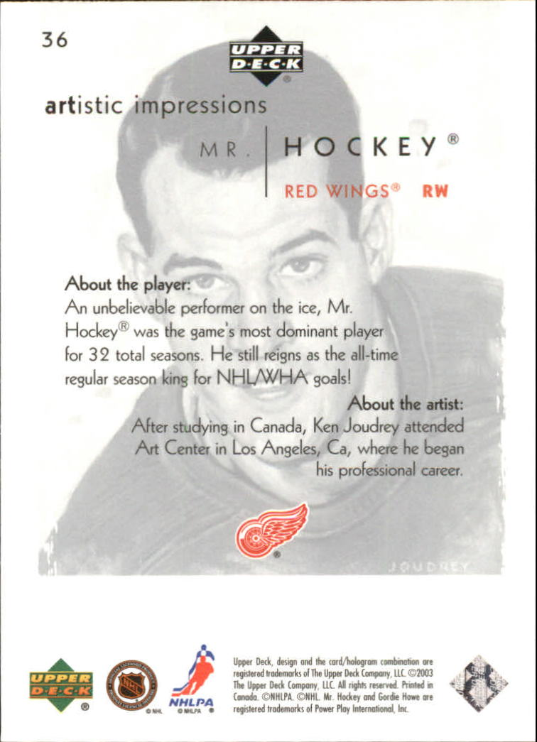 2002-03-UD-Artistic-Impressions-Hockey-Cards-Pick-From-List miniature 67
