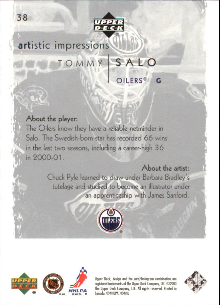 2002-03-UD-Artistic-Impressions-Hockey-Cards-Pick-From-List miniature 71