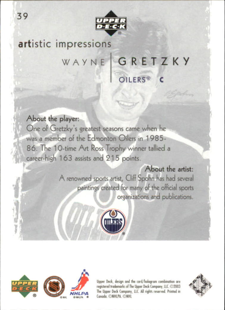 2002-03-UD-Artistic-Impressions-Hockey-Cards-Pick-From-List miniature 73