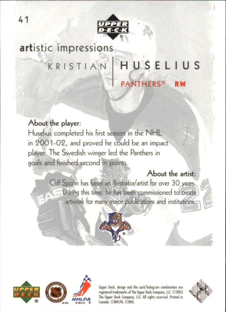 2002-03-UD-Artistic-Impressions-Hockey-Cards-Pick-From-List miniature 77