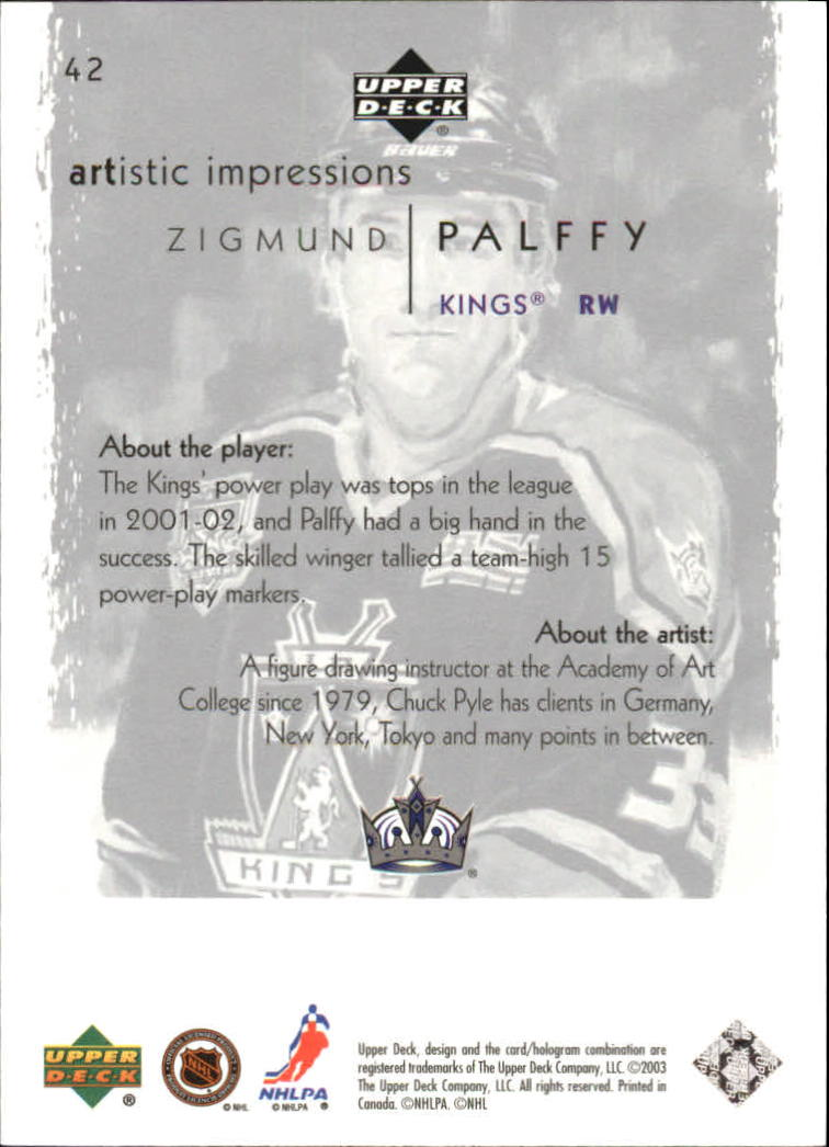2002-03-UD-Artistic-Impressions-Hockey-Cards-Pick-From-List miniature 79
