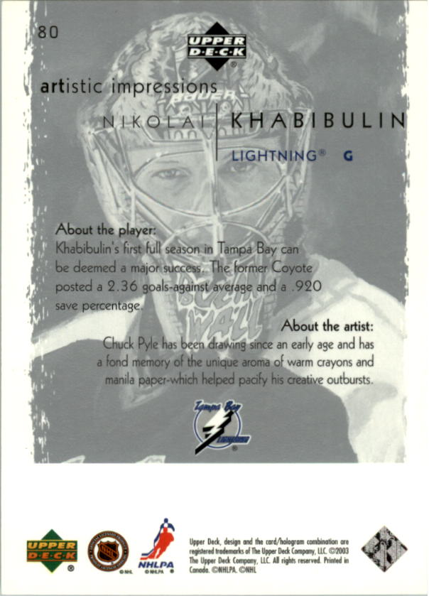 2002-03-UD-Artistic-Impressions-Hockey-Cards-Pick-From-List miniature 143