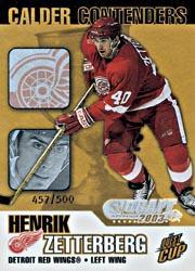2003 Pacific Calder Contenders NHL Entry Draft #7 Henrik Zetterberg