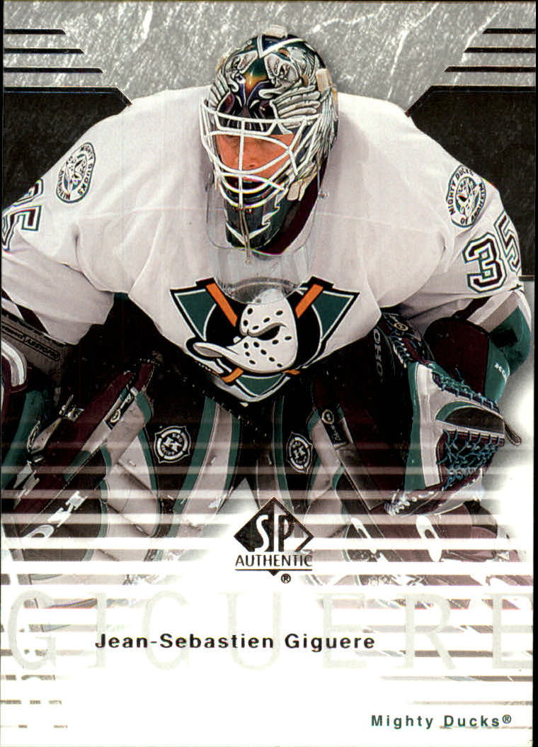 2003-04 SP Authentic #1 Jean-Sebastien Giguere