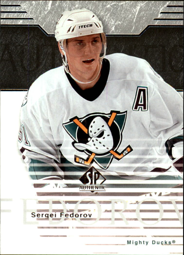 2003-04 SP Authentic #2 Sergei Fedorov