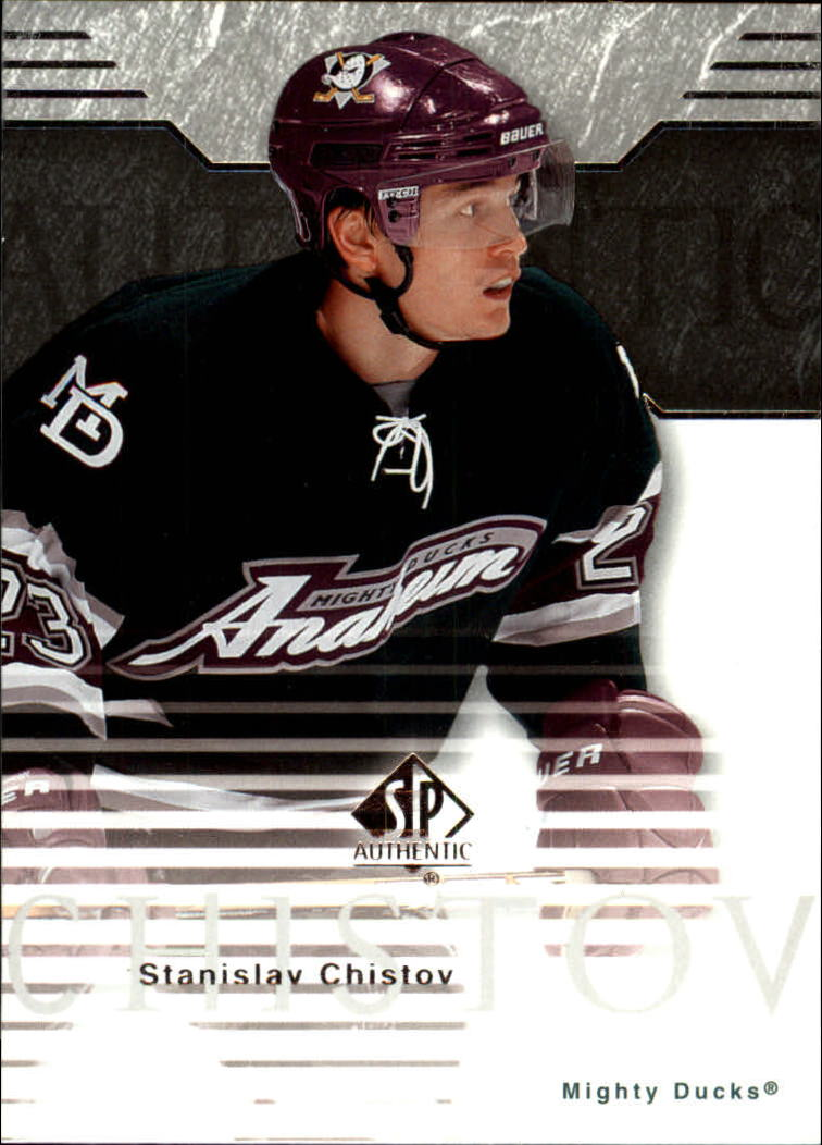 2003-04 SP Authentic #3 Stanislav Chistov