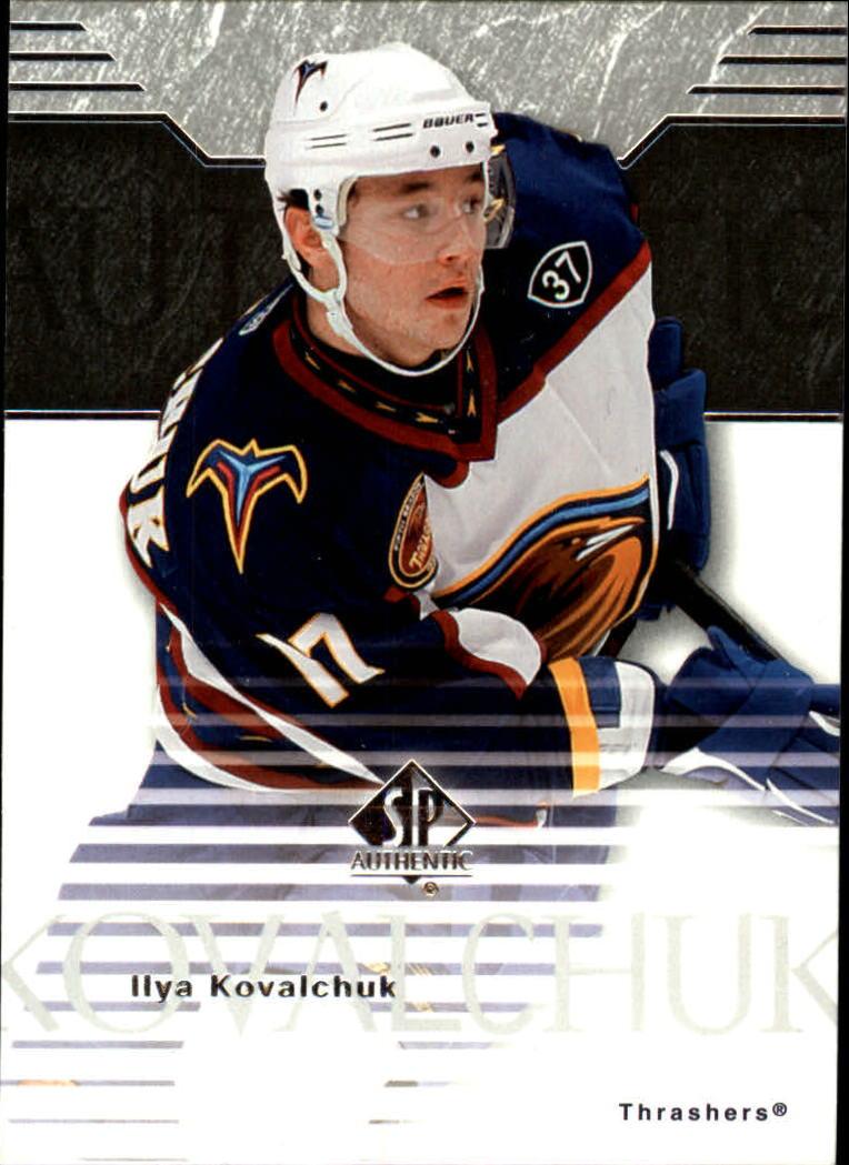 2003-04 SP Authentic #5 Ilya Kovalchuk