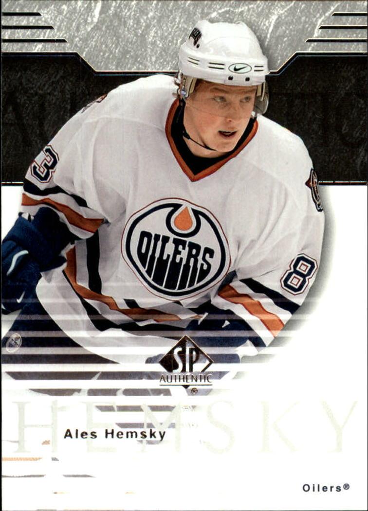 2003-04 SP Authentic #32 Ales Hemsky