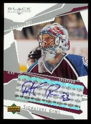 2003-04 Black Diamond Signature Gems #SG23 Patrick Roy/24