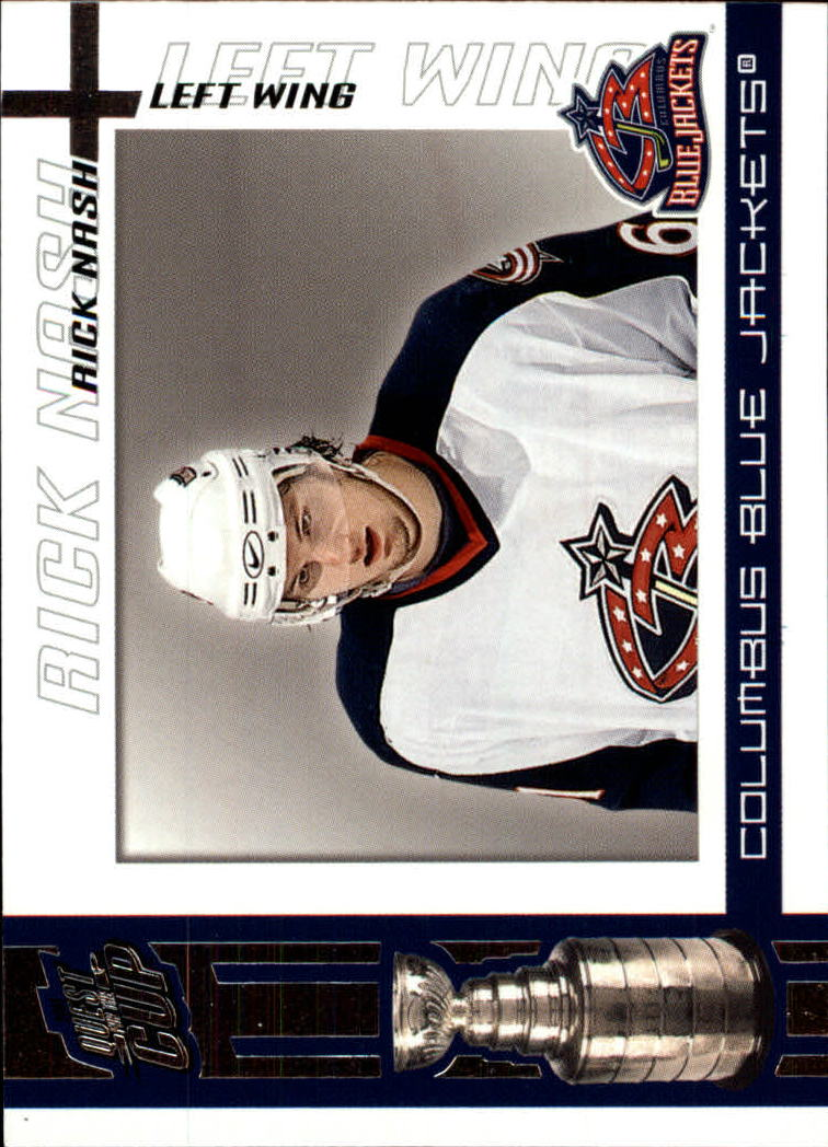 2003-04 Pacific Quest for the Cup #30 Rick Nash