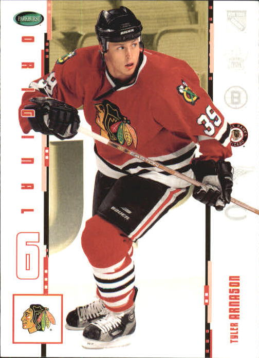 2003-04 Parkhurst Original Six Chicago #1 Tyler Arnason