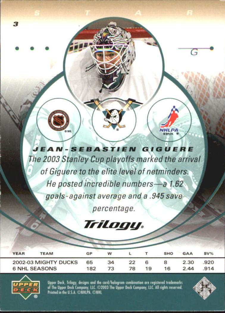2003-04-Upper-Deck-Trilogy-Hockey-Cards-Pick-From-List thumbnail 5
