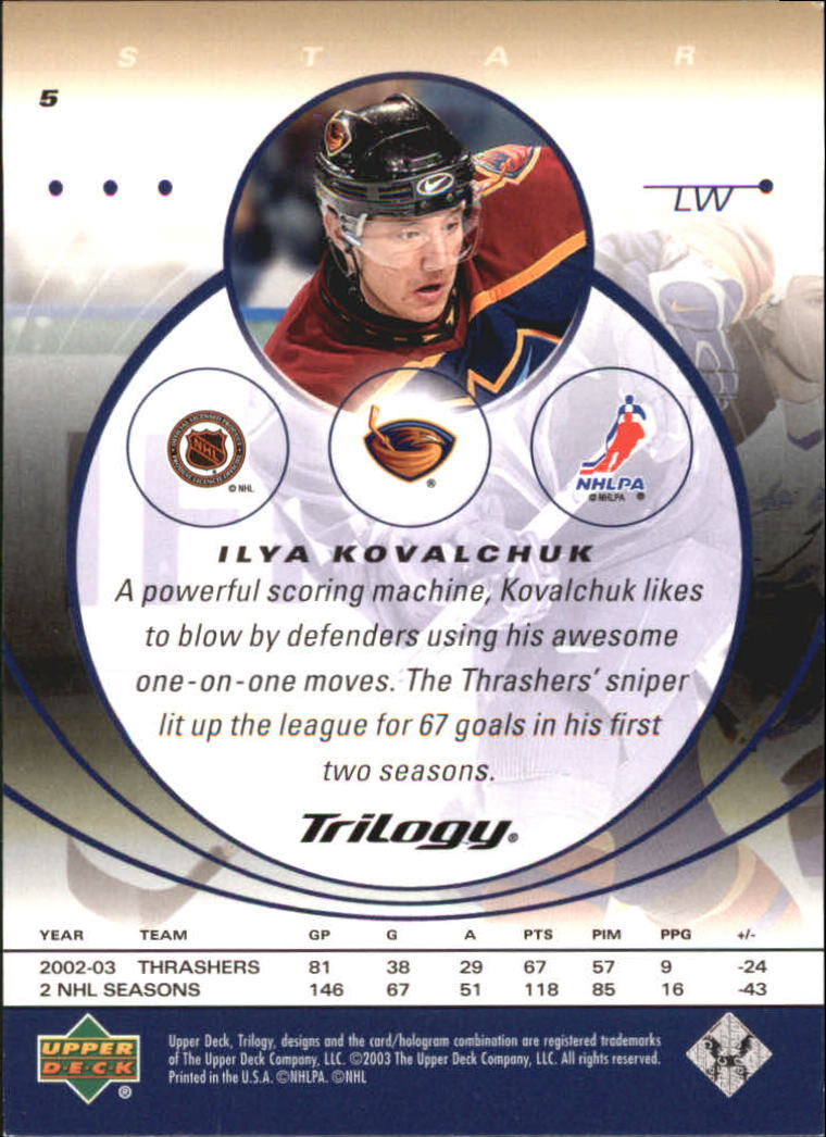 2003-04-Upper-Deck-Trilogy-Hockey-Cards-Pick-From-List thumbnail 9