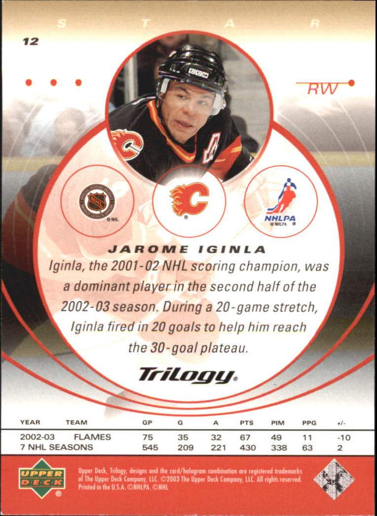 2003-04-Upper-Deck-Trilogy-Hockey-Cards-Pick-From-List thumbnail 19