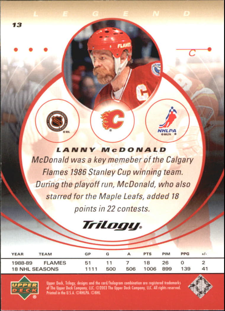 2003-04-Upper-Deck-Trilogy-Hockey-Cards-Pick-From-List thumbnail 21
