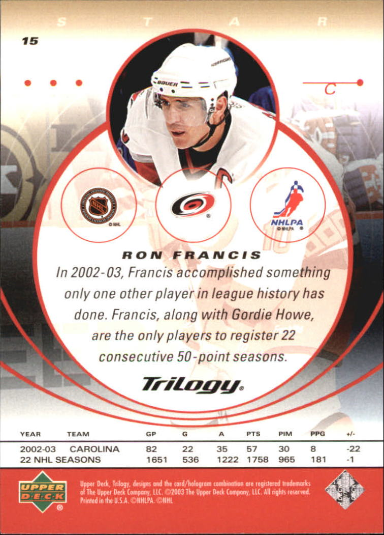 2003-04-Upper-Deck-Trilogy-Hockey-Cards-Pick-From-List thumbnail 25