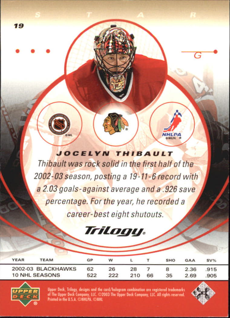 2003-04-Upper-Deck-Trilogy-Hockey-Cards-Pick-From-List thumbnail 33