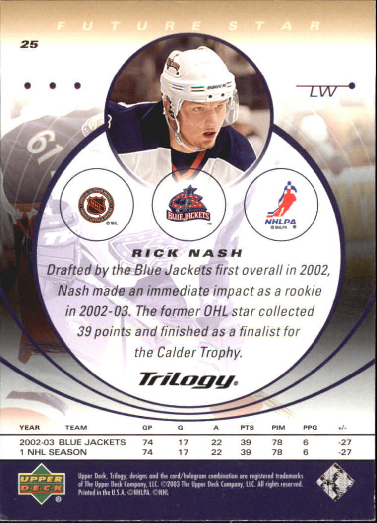 2003-04-Upper-Deck-Trilogy-Hockey-Cards-Pick-From-List thumbnail 41