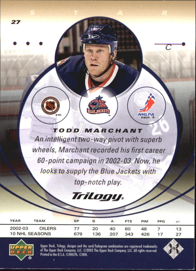 2003-04-Upper-Deck-Trilogy-Hockey-Cards-Pick-From-List thumbnail 45