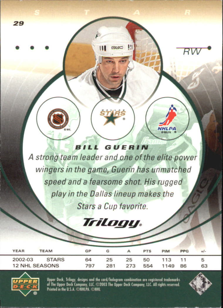 2003-04-Upper-Deck-Trilogy-Hockey-Cards-Pick-From-List thumbnail 49
