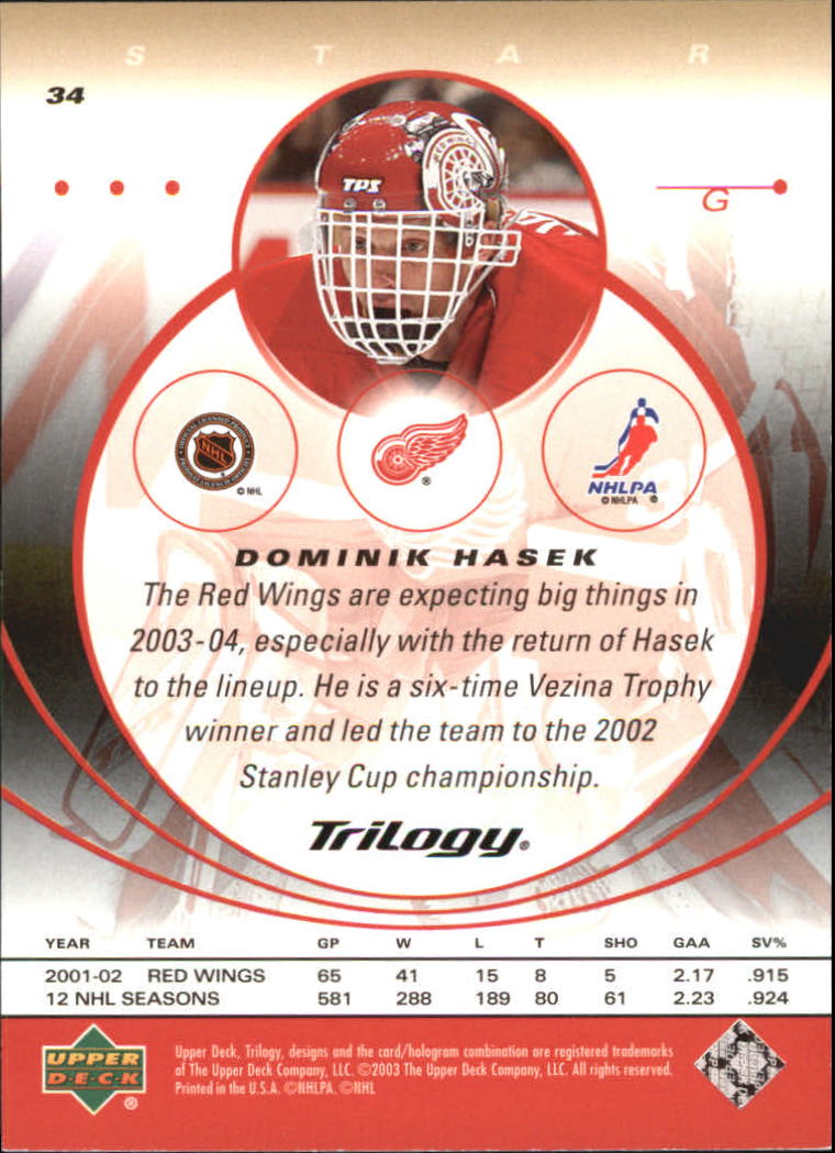 2003-04-Upper-Deck-Trilogy-Hockey-Cards-Pick-From-List thumbnail 53