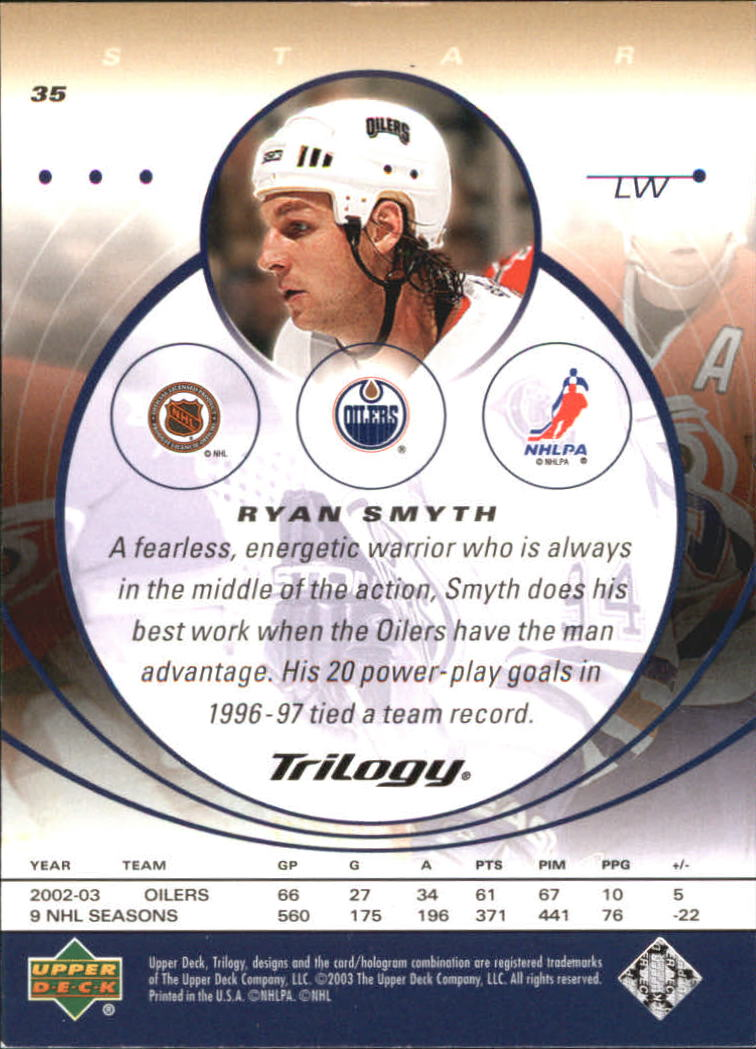 2003-04-Upper-Deck-Trilogy-Hockey-Cards-Pick-From-List thumbnail 55