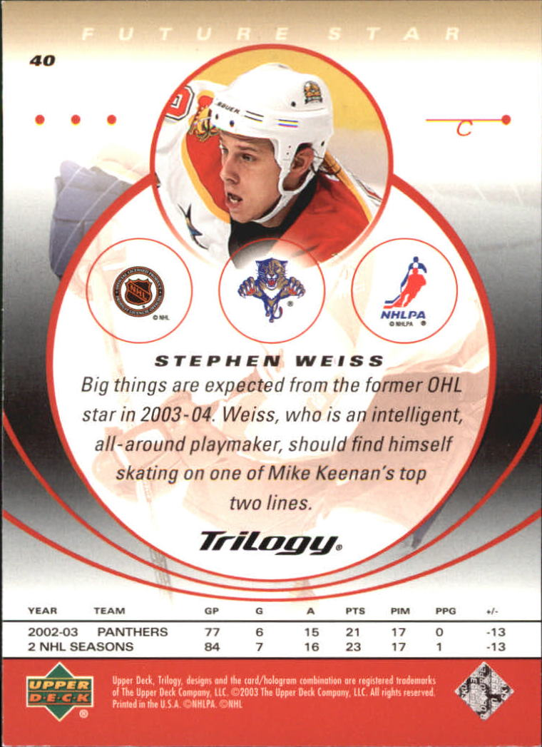 2003-04-Upper-Deck-Trilogy-Hockey-Cards-Pick-From-List thumbnail 61