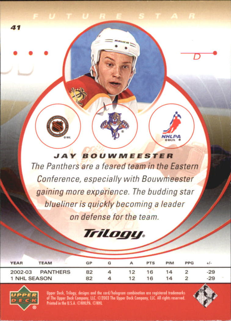 2003-04-Upper-Deck-Trilogy-Hockey-Cards-Pick-From-List thumbnail 63