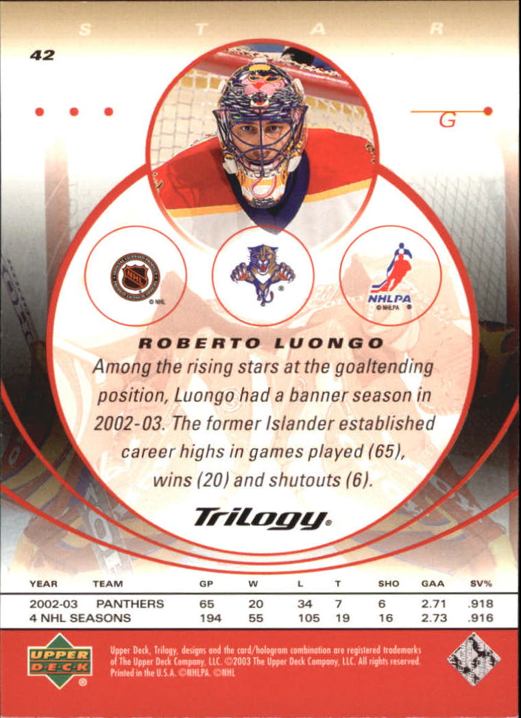 2003-04-Upper-Deck-Trilogy-Hockey-Cards-Pick-From-List thumbnail 65